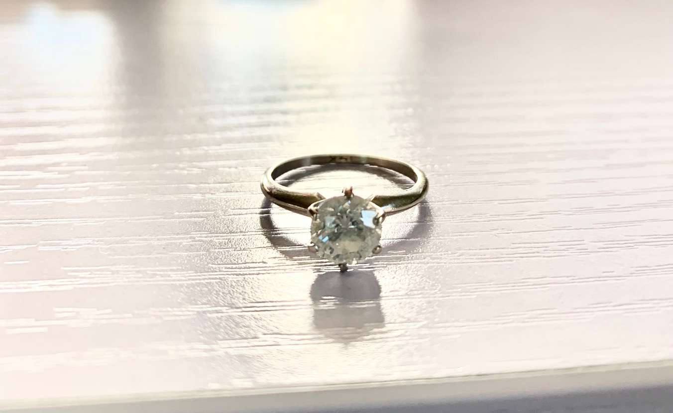 1.09ct Engagement Ring in