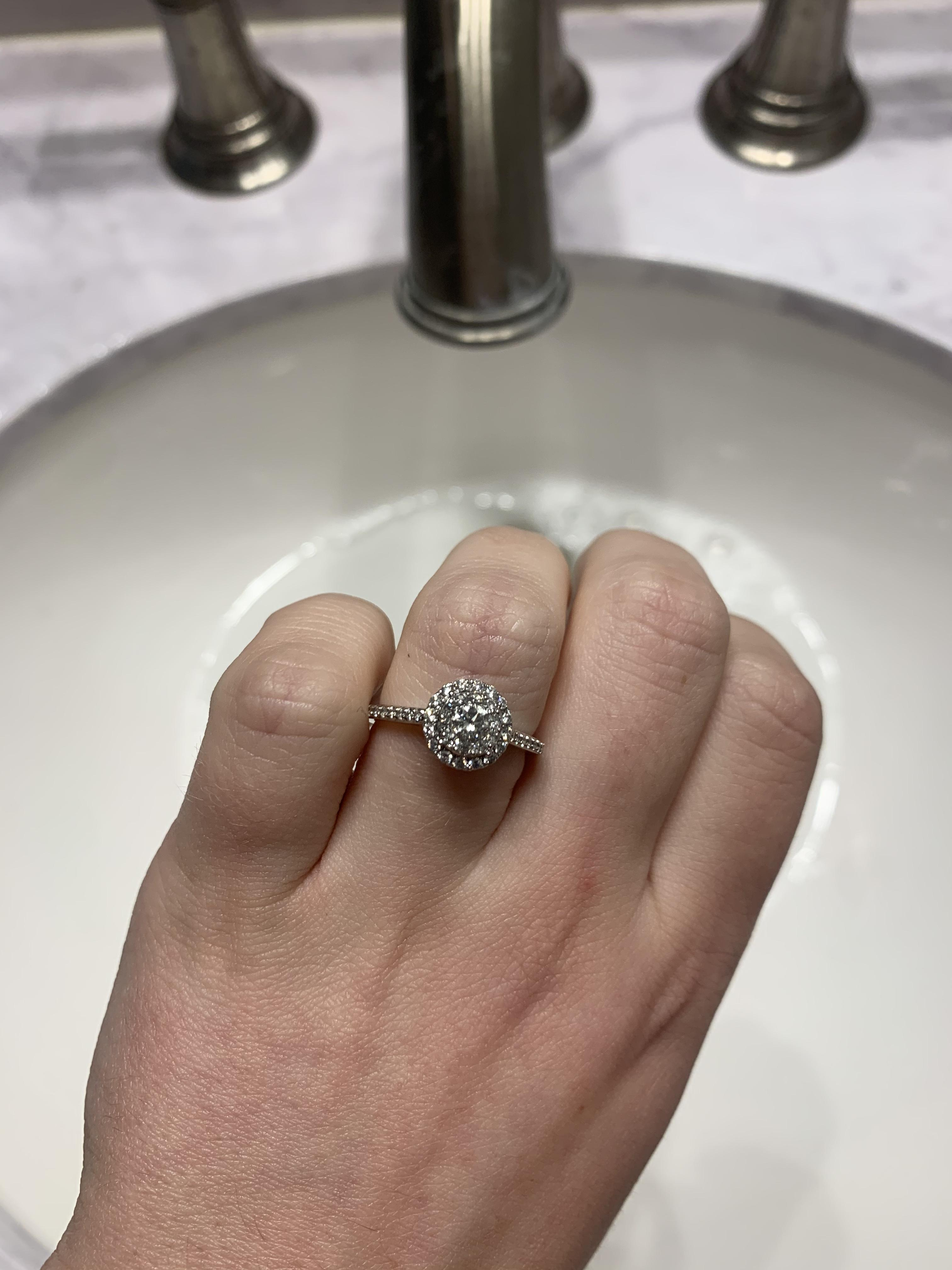 Zales Engagement Ring for