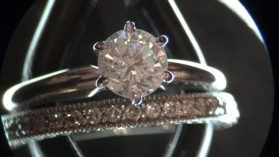Solitaire Diamond Ring and