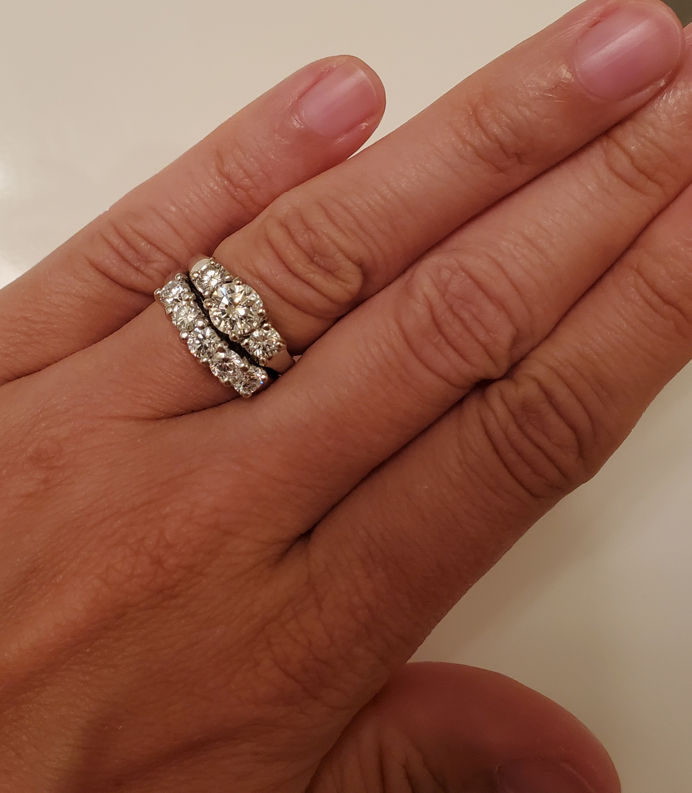 Custom Engagement Ring and