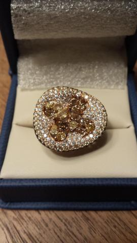 Amazing 3.44ct Multi-colored Diamond