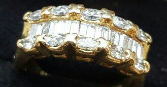 Mixed Diamond Cluster Band