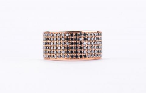 Black Diamond Micro-Pave Wedding