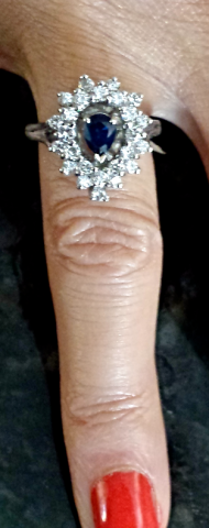 Luxurious Fine Diamond StarBurst