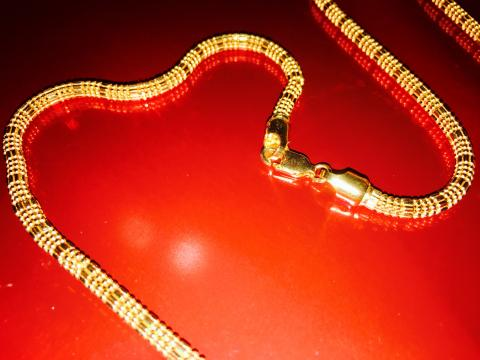 22k Solid Gold Chain