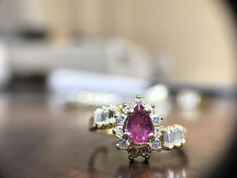 Antique Diamond Ring With