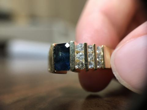 Antique Ladies Diamond Ring