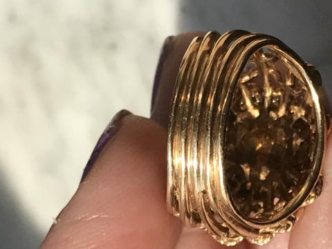 Gorgeous 14KT GOLD RING