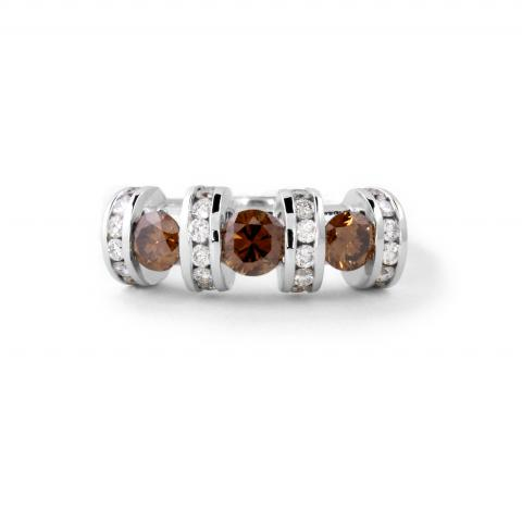 Contemporary Brown Diamonds Band