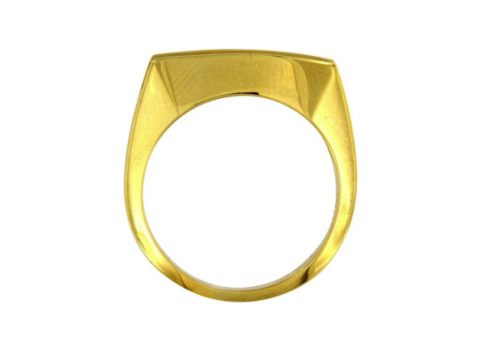 Men's Yellow Gold Ring