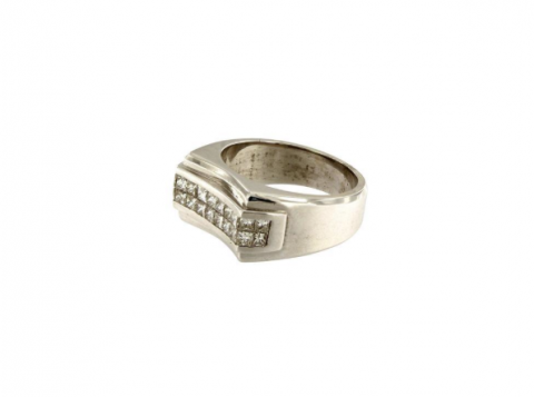 Men's Diamond Ring Band