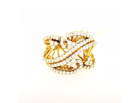 Luxury Yellow Gold Ring