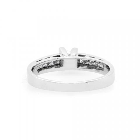 14K White Gold 0.50ct