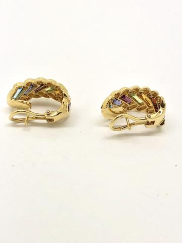 18K Yellow Gold and