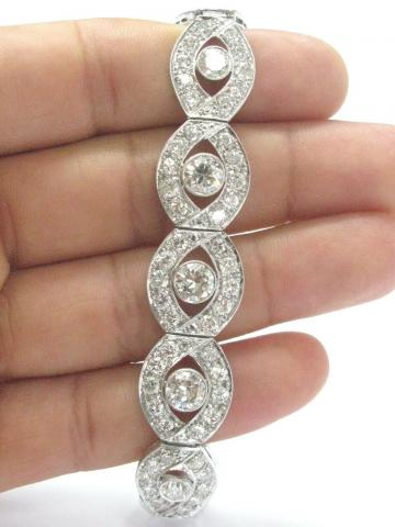 Platinum Vintage NATURAL Diamond