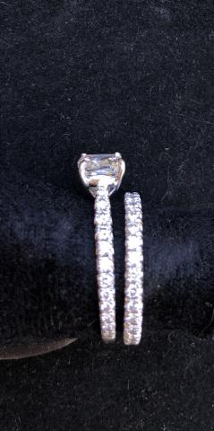 Diamonds Direct Platinum Eternity