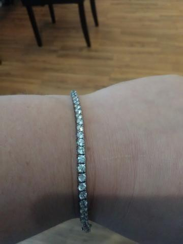 Beautiful Diamond Tennis Bracelet