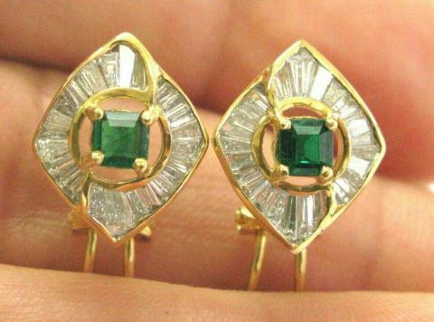 Green Emerald & Diamond