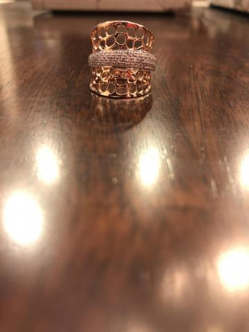 14k Rose Gold with