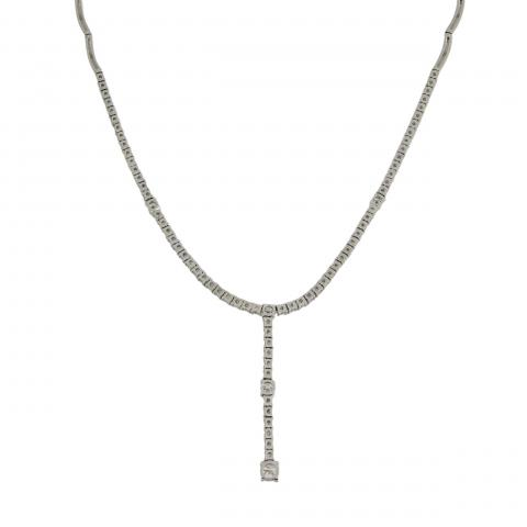 Exquisite Diamond Necklace in