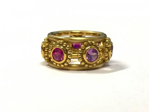 Pink and Purple Sapphire