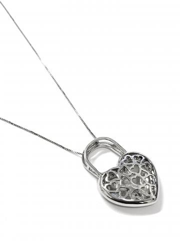 Heart Shape Lock Pendant