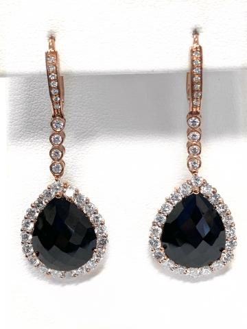 Black Spinel and Diamond