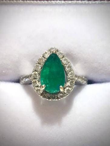 COLUMBIAN EMERALD and DIAMOND