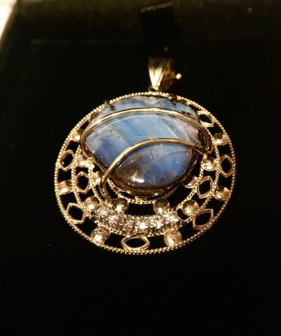 Diamond and Opal Gold