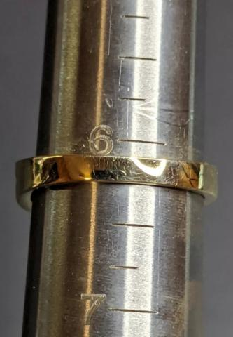 10k Gold Ring With