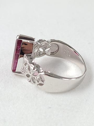 rubellite ring made in