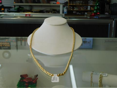 18k Yellow Gold Rope