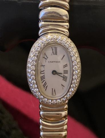 Cartier Perfect condition white