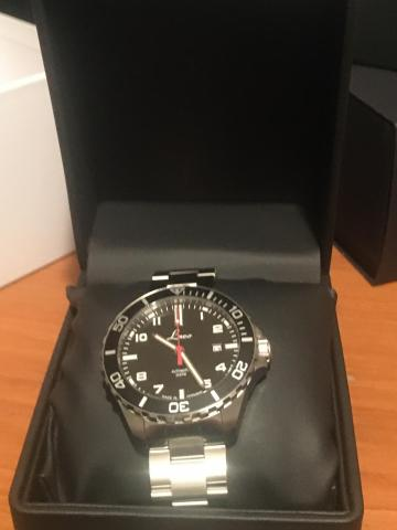 Laco automatic diver's watch
