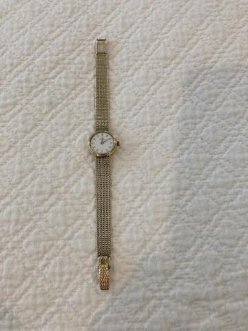 Gold Omega Ladies Watch