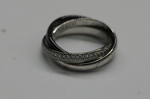 Cartier Trinity Black And White Ring I Do Now I Don T