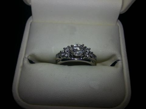 Jared Engagement Ring Size 5 12 with Insurance Appraisal Papers I