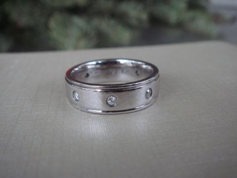 14k Eternity Band with