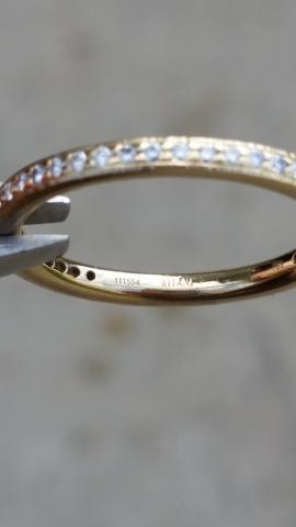**RITANI** 18KT Diamond Eternity