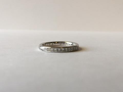 Princess Diamond Wedding Band