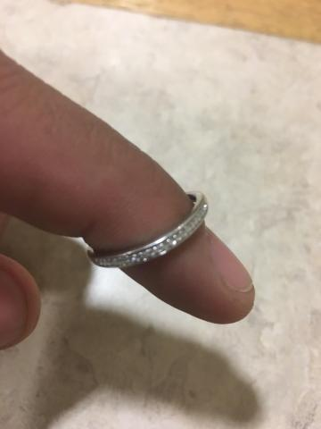 Women's wedding band sz