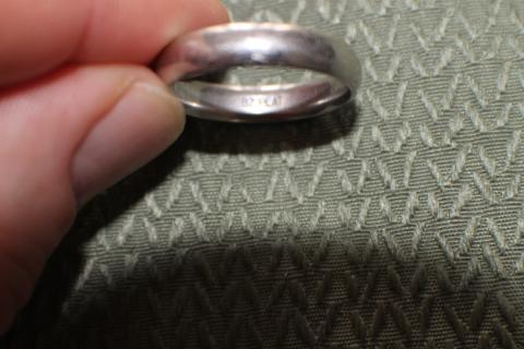 Platinum Wedding Band, Size