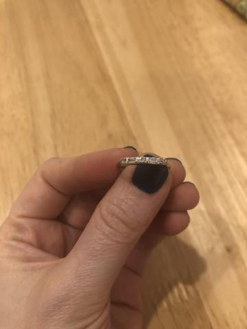 Antique Women's Diamond Wedding