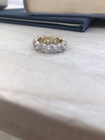 Sparkly Eternity Band