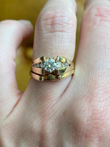 14k Yellow Gold Cathedral