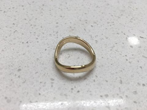 Men's Gold Band