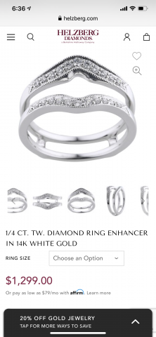 1/4 CT ring enhancer