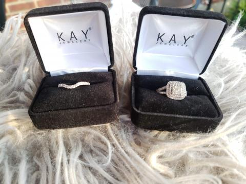 Kay Jewelers Bridal Set
