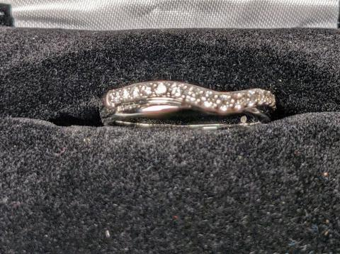Diamond Wedding Band 1/4