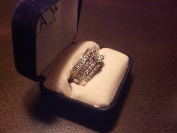 Leo Diamond Engagement Ring And Enhancer Band 2ct T W